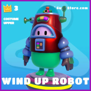 wind up robot epic costume upper fall guys skin