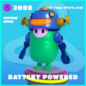 battery powered common costume upper fall guys skin