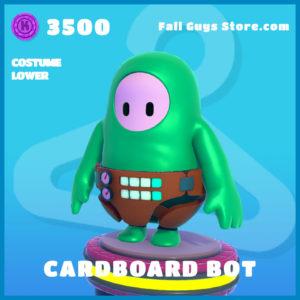 cardboard bot costume lower fall guys skin