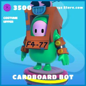cardboard bot costume upper fall guys skin