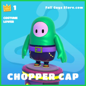 chopper cap costume lower rare fall guys skin