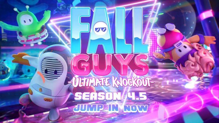Fall Guys: Season 4.5 Out Now
