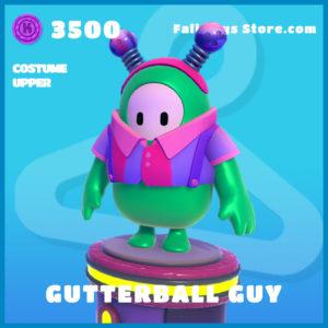 gutterball guy uncommon costume upper fall guys skin