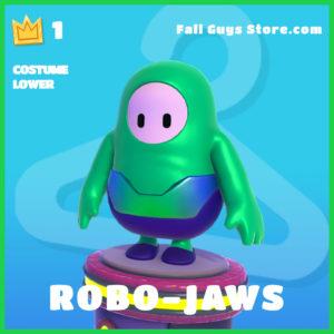 robo-jaws rare costume lower fall guys skin