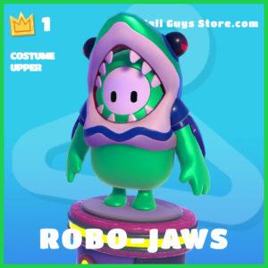 robo-jaws rare costume upper fall guys skin