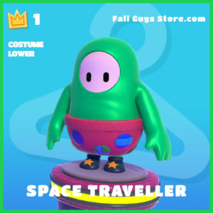 space traveller rare costume lower fall guys skin