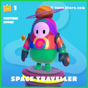 space traveller rare costume upper fall guys skin