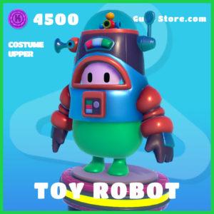 toy robot rare costume upper fall guys skin