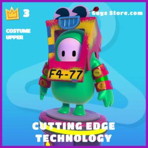 cutting edge technology costume upper fall guys skin
