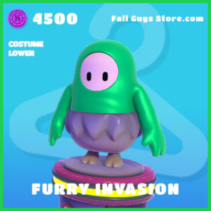 furry invasion costume lower fall guys skin
