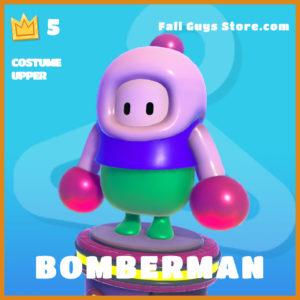 bomberman legendary costume upper fall guys skin