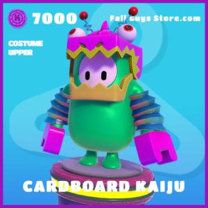 cardboard kaiju epic costume upper fall guys skin