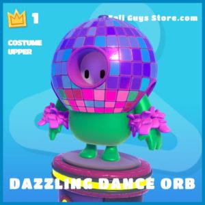 dazzling dance orb uncommon costume upper fall guys skin