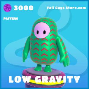 low gravity uncommon pattern fall guys item