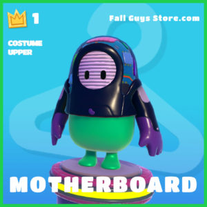 motherboard rare costume upper fall guys skin