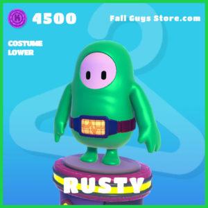 rusty rare costume lower fall guys skin