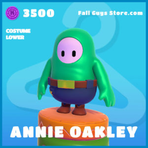 annie oakley uncommon costume lower fall guys skin