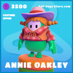 annie oakley uncommon costume upper fall guys skin
