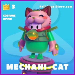 Mechani-cat costume upper epic fall guys skin