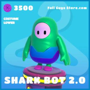 Shark Bot 2.0 uncommon costume lower fall guys skin