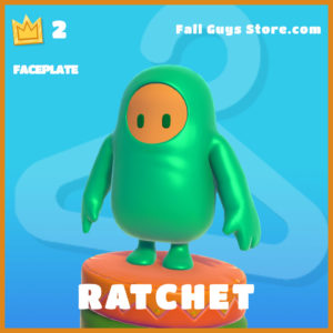 ratchet legendary faceplate fall guys item