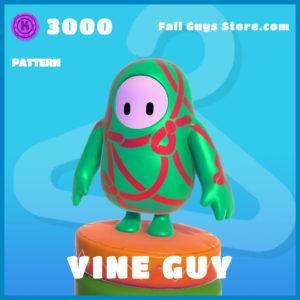 vine guys pattern fall guys item