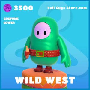 wild west uncommon costume lower fall guys skin