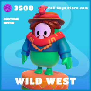 wild west uncommon costume upper fall guys skin