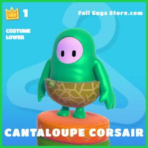 Cantaloupe Corsair rare costume lower fall guys skin