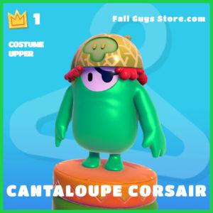 Cantaloupe Corsair rare costume upper fall guys skin