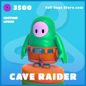 Cave Raider uncommon costume lower fall guys skin