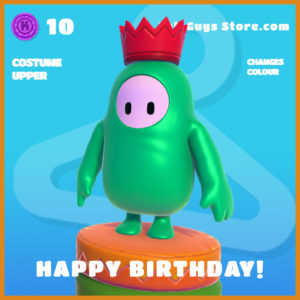 happy birthday! legendary costume upper fall guys skin