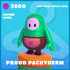 Proud Pachyderm uncommon costume lower fall guys skin