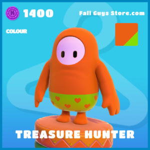 Treasure Hunter colour fall guys