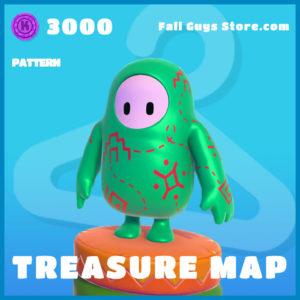 Treasure Map uncommon pattern fall guys