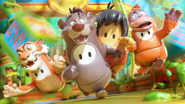 Fall Guys: The Jungle Book swings into Fall Guys!