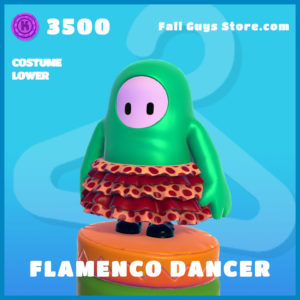 flamenco dancer uncommon costume lower fall guys skin
