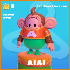 AiAi legendary costume upper fall guys skin