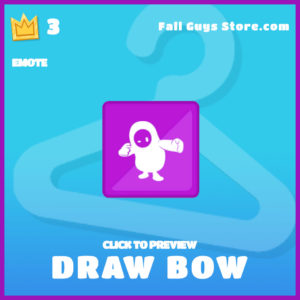 Draw Bow epic emote fall guys the jungle book