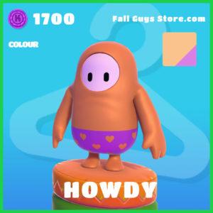 howdy rare colour fall guys