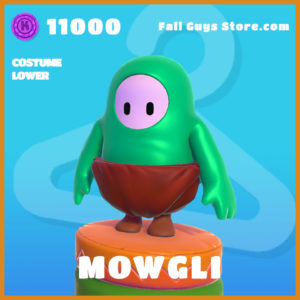 Mowgli legendary costume lower fall guys skin the jungle book