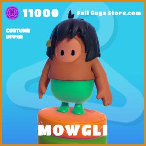 Mowgli legendary costume upper fall guys skin the jungle book