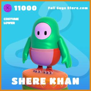 Shere Khan legendary costume lower fall guys skin the jungle book