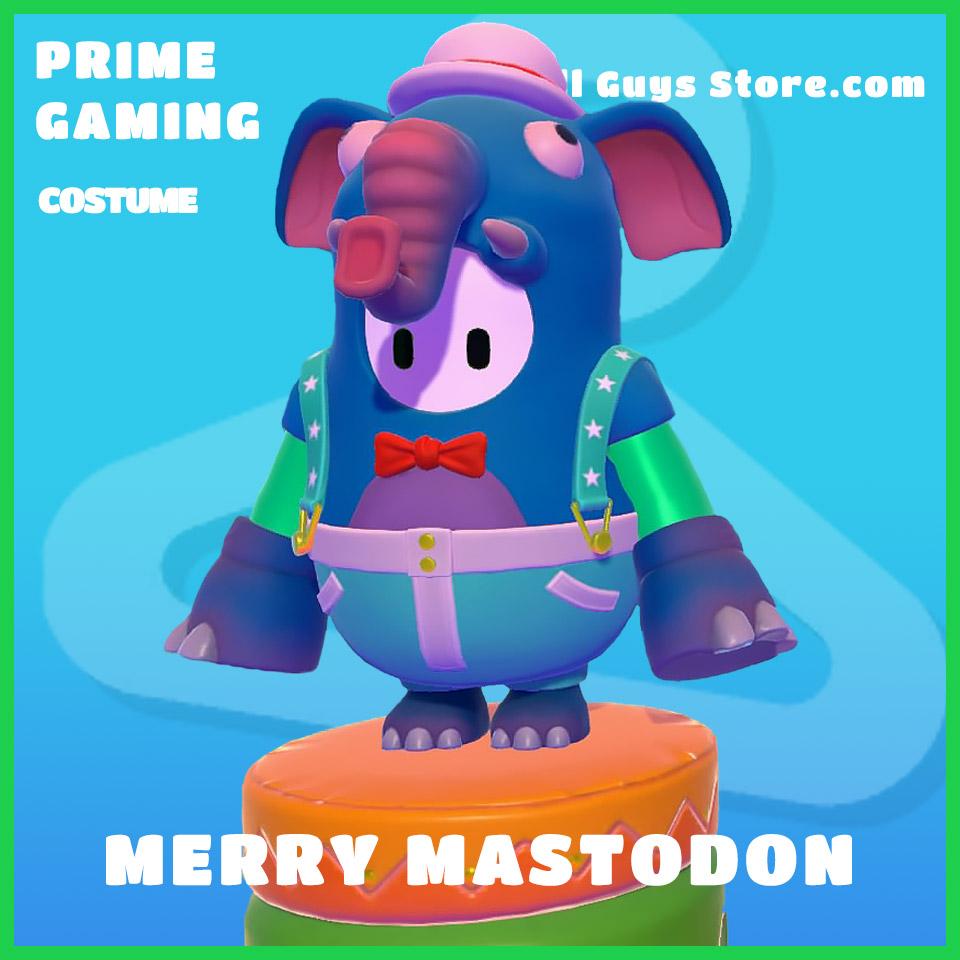 Merry mastodon prime gaming fall guys costume