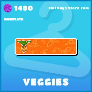 veggies uncommon nameplate fall guys item