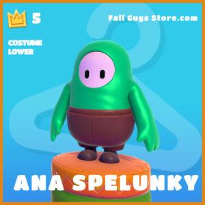 Ana Spelunky legendary costume lower fall guys skin
