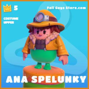 Ana Spelunky legendary costume upper fall guys skin