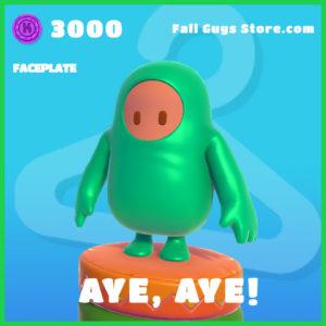 aye, aye! rare faceplate fall guys